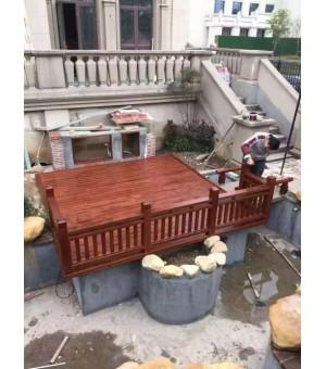 青岛雅居庭院公司专业锦鲤鱼池设计施工